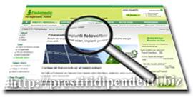 Prestito Pannelli Solari di Findomestic Banca: analisi del finanziamento fotovoltaico