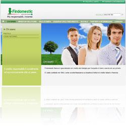 Screenshot dal sito istituzionale di Findomestic Banca S.p.A.