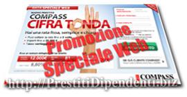 Prestito Compass Cifra Tonda in promozione Speciale Web
