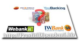 Prestiti online: confronto finanziamenti di banche online