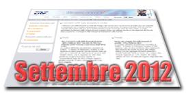 Barometri CRIF su prestiti e mutui di Settembre 2012