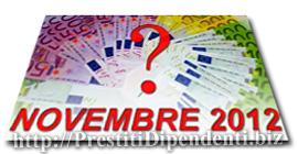 Confronto prestiti personali di Novembre 2012: i migliori finanziamenti online
