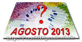 Confronto offerte prestiti personali di Agosto 2013: i migliori finanziamenti online