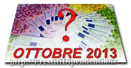 Confronto offerte prestiti personali di Ottobre 2013: i migliori finanziamenti online