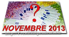 Confronto offerte prestiti personali di Novembre 2013: i migliori finanziamenti online