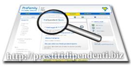 Analisi del prestito garantito ProDipendenti Quinto di ProFamily