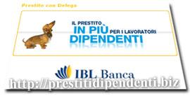 Prestito con Delega di IBL Banca