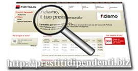 Prestito personale Fidiamo di Fiditalia: analisi di tassi e condizioni