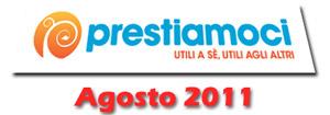 Prestiamoci.it: novità di Agosto 2011