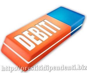 Cancellazione debiti cattivi pagatori