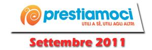 Prestiamoci.it: novità di Settembre 2011
