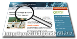 CQS per dipendenti pubblici in convenzione INPDAP di Professione-Prestiti: scheda di analisi